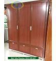 Thi công tủ nhôm kính quần áo cho chị Trang -Khu đô thị thanh Hà