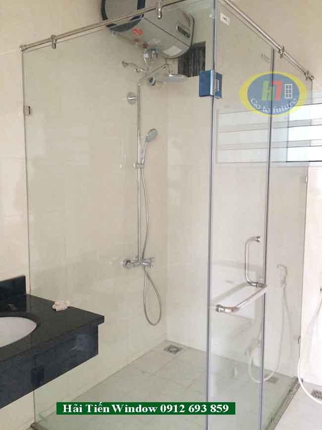 50 Mẫu vách tắm kính cường lực đẹp, giá rẻ tại Hà Nội