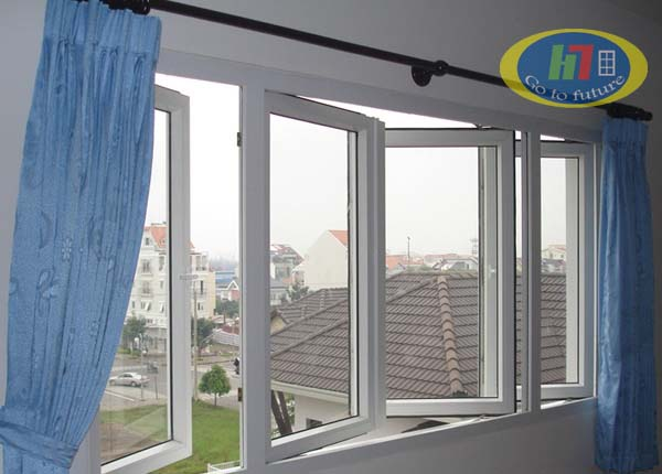 Cửa sổ nhôm kính 4 cánh, mẫu cửa nhôm kính đẹp