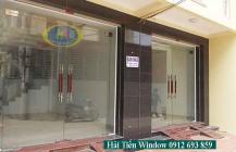 50 mẫu cửa kính cường lực đẹp và sang trọng, giá rẻ tại Hà Nội