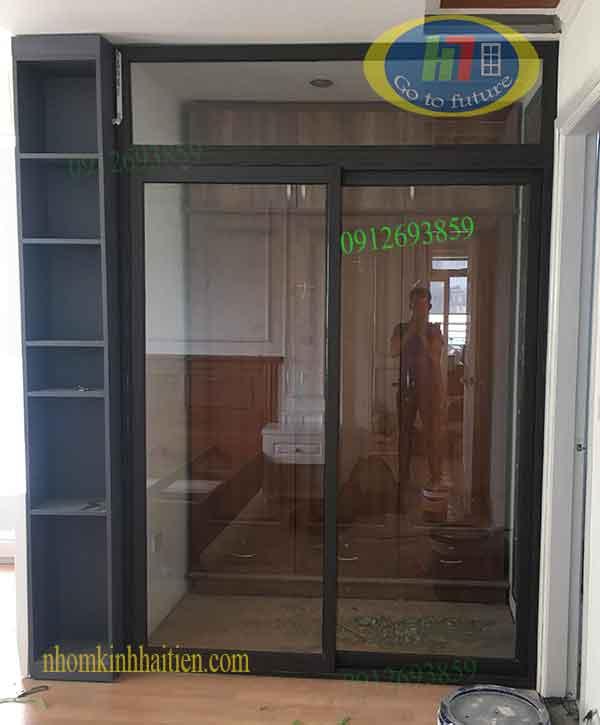 Vách ngăn nhôm kính tại Thanh Xuân